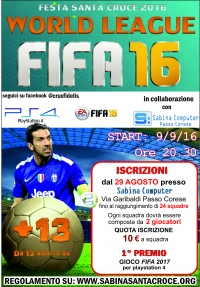 Passo Corese (RI) - Torneo PlayStation